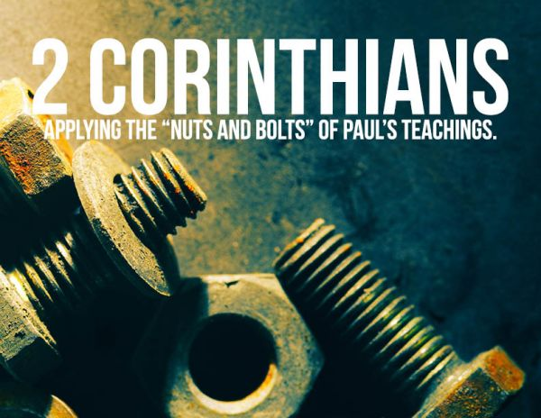2 Corinthians Bible Study - on Wednesdays, 7 PM led by Pastor Meko