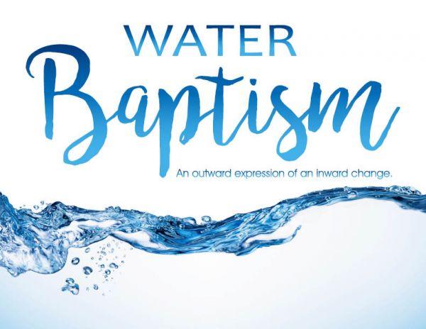 BAPTISM - Sunday, April 30, 12:45 pm after church ...
