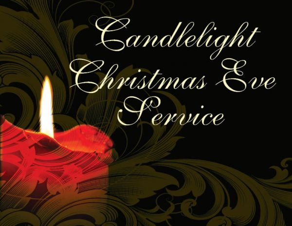 Christmas Eve Service, Monday, December 24 at 6:00 PM