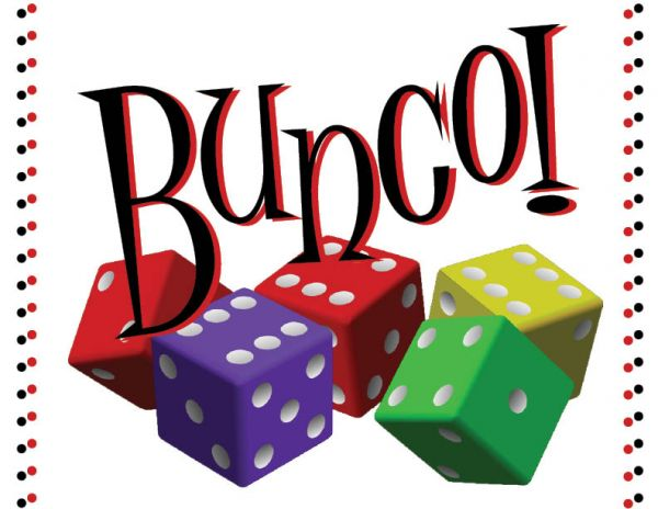 Family Bunco Night, Friday, June 29, 6:00, $10