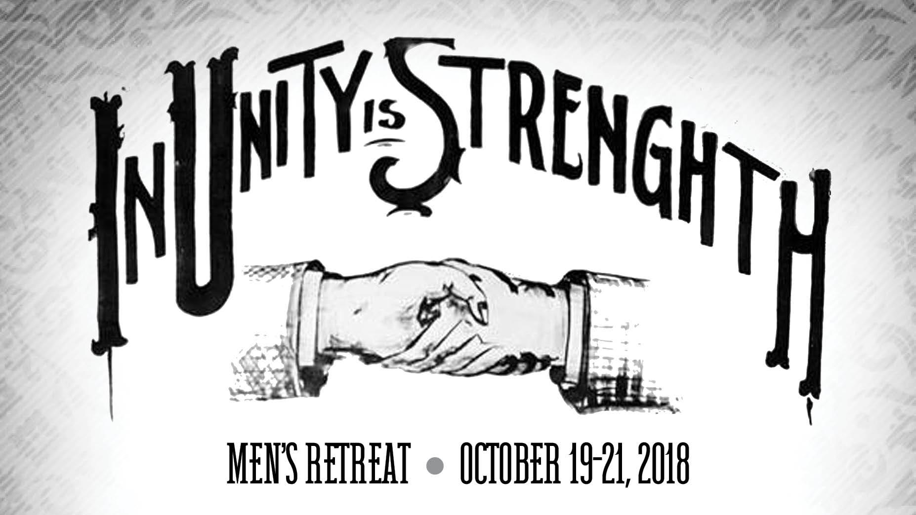 Mens Retreat October 20-22