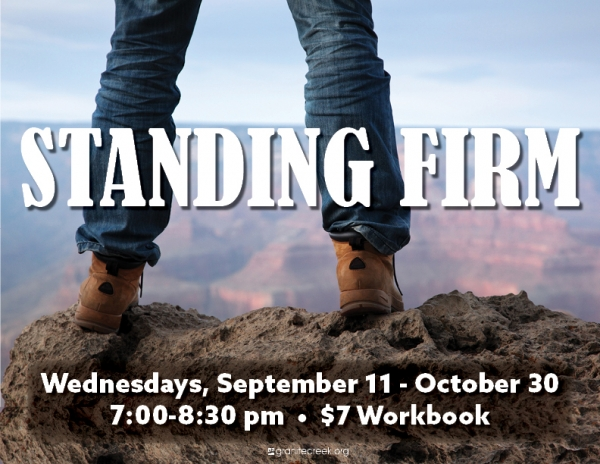 This Wednesday Night - New Men's Study starts Sept 11, 7 pm